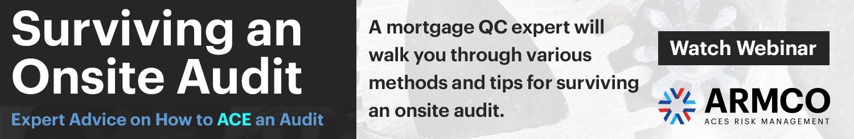Surviving an Onsite Audit
